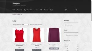 Álompóló webáruház