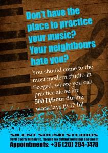 Silent Sound Studios plakát