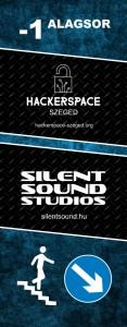 HackerSpace / Silent Sound Studios molinó